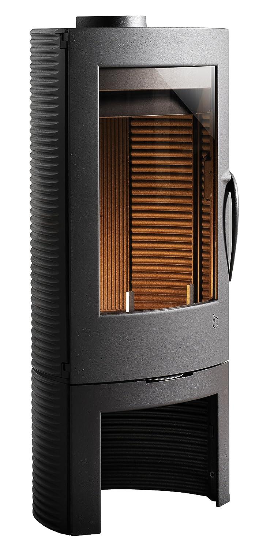 Hierro fundido estufa de leña INVICTA Argos - 10kW duración de incendio: Amazon.es: Hogar