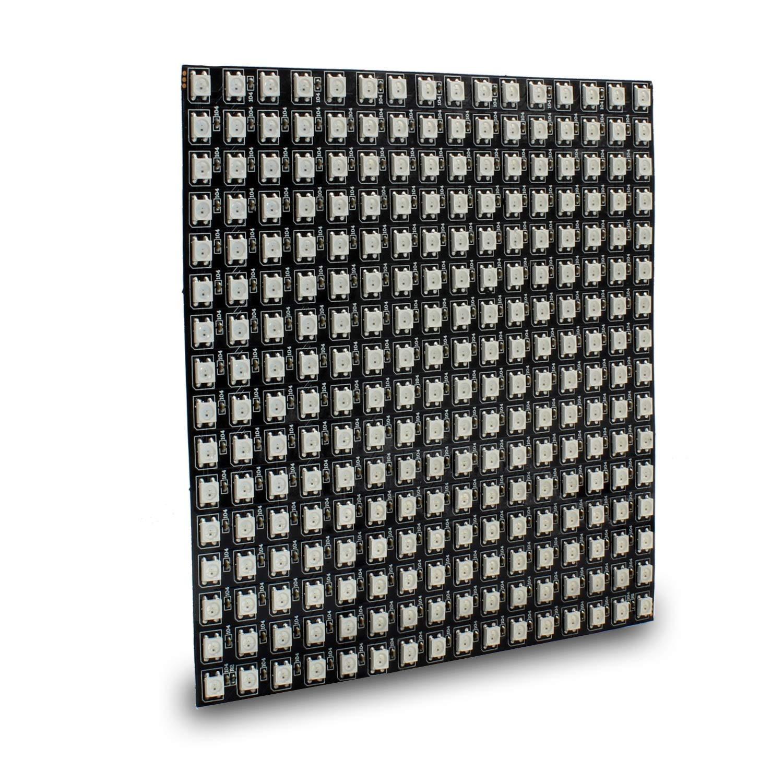 Nrthtri Module WS2812B 256 Pixels Digital 5050 RGB Dream Color Programmed LED Module Strip DC5V 1616cm by Nrthtri