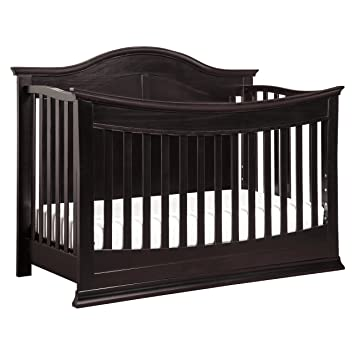 DaVinci Meadow 4 In 1 Convertible Crib With Toddler Bed Conversion Kit Dark