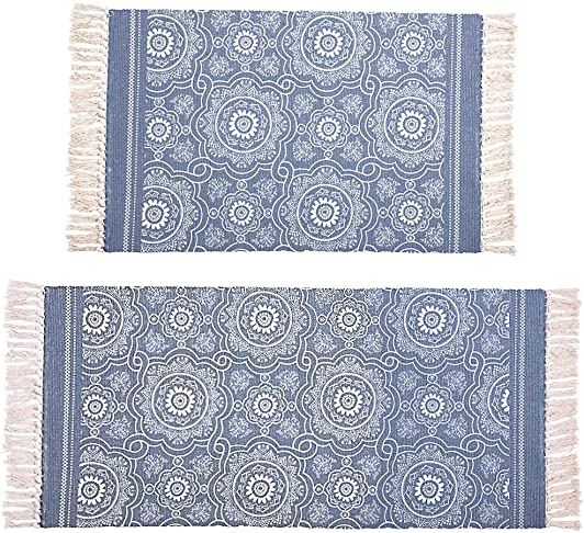 Hedume 2 Pack Cotton Area Rug