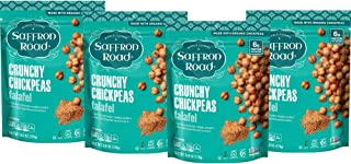 product image for Saffron Road Crunchy Chickpea Snack, Falafel, 6oz (Pack of 4) - Gluten Free, Non-GMO, Halal, Kosher, Vegan