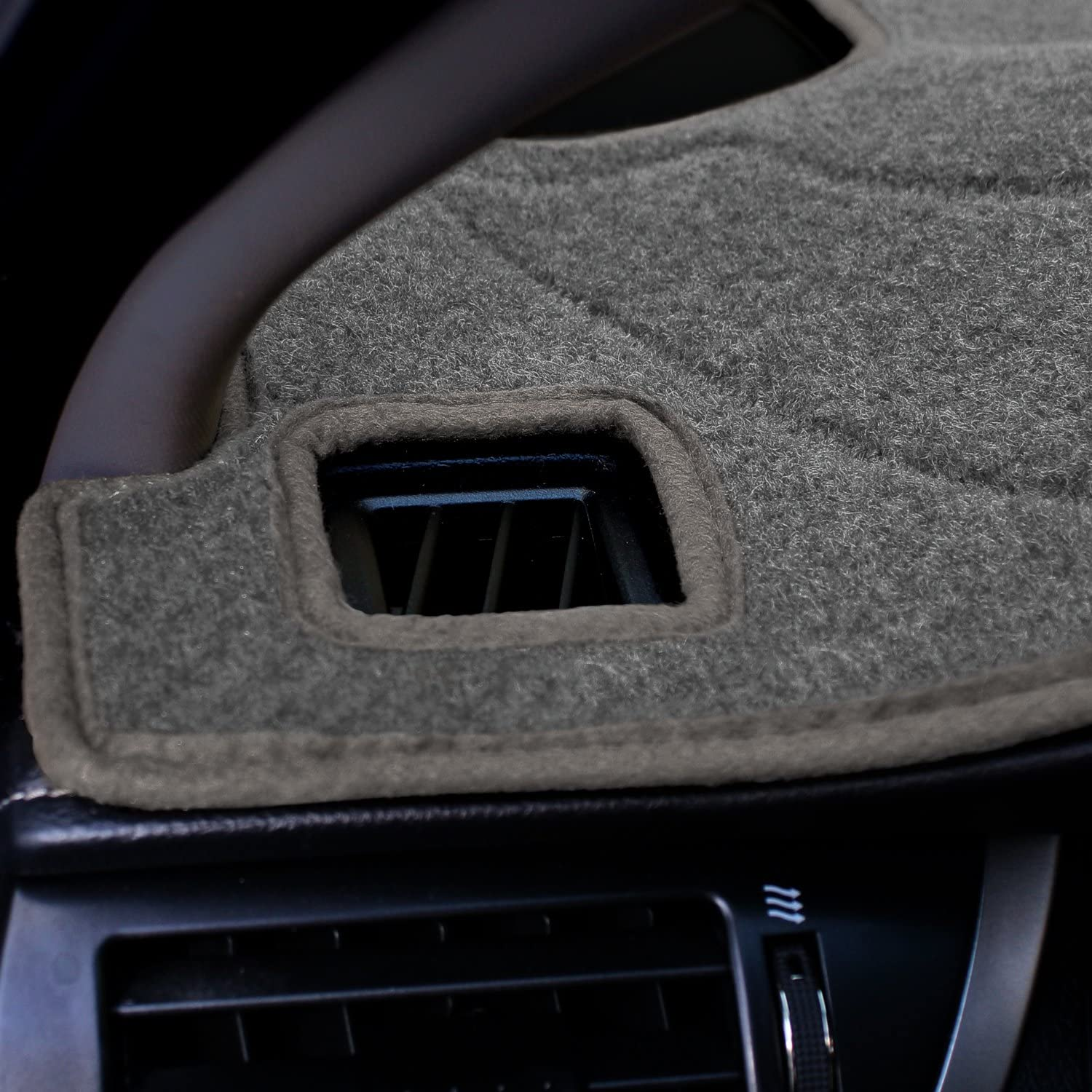 Coverking Custom Fit Dashcovers for Select Toyota Solara Models Tan Poly Carpet