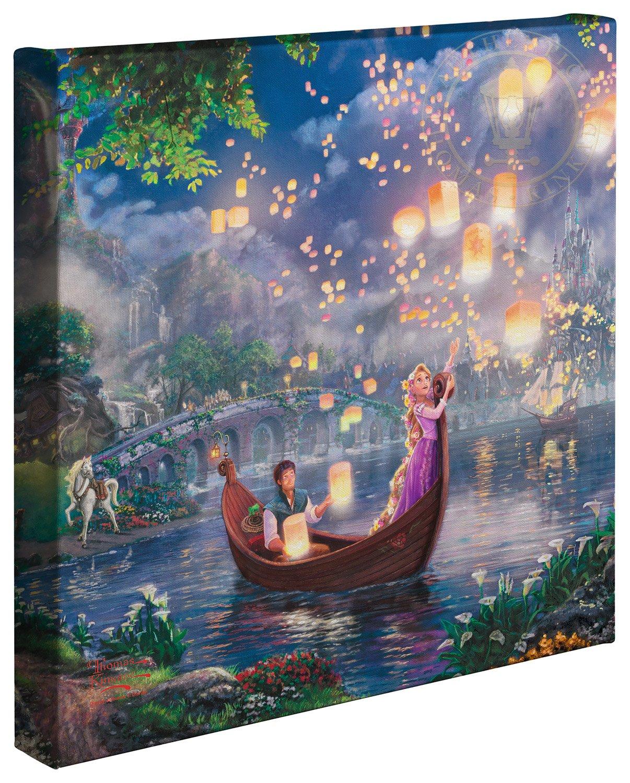Thomas Kinkade Rapunzel - Neu verföhnt, Leinwandbild, 35.6 x 3.8 3.8 3.8 x 35.6 cm de2da4