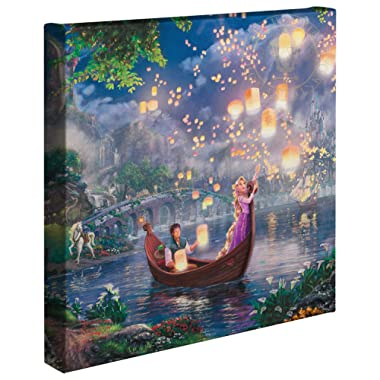 Thomas Kinkade Tangled 14x14 Gallery Canvas Wrap