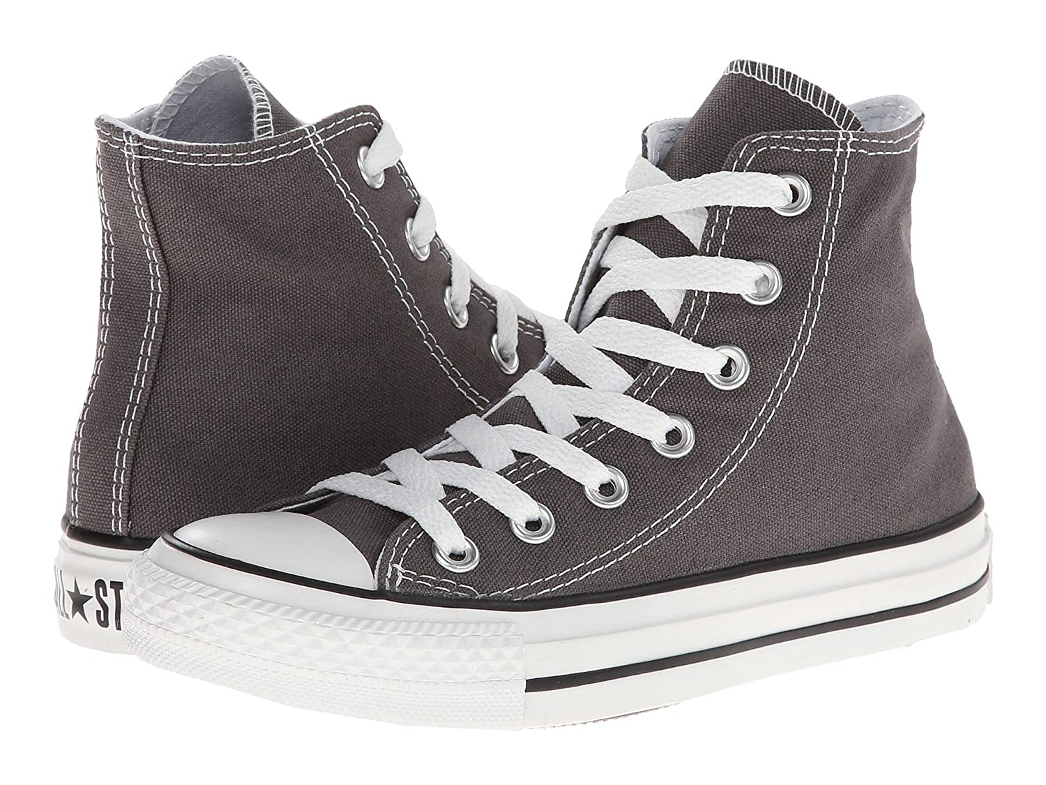 Converse Unisex Chuck Taylor All Star Hi Top US Sneaker B077PQGKFW 10 B(M) US Top Women / 8 D(M) US Men|Charcoal aa9ce0