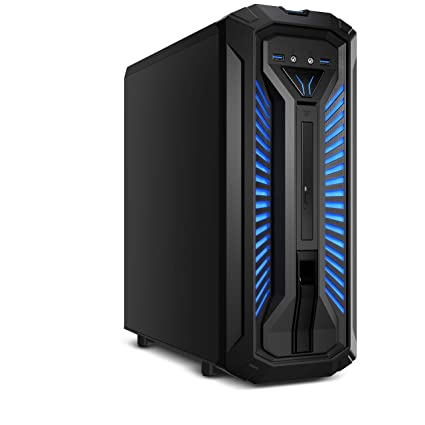 MEDION X30 PCC968 - Ordenador de sobremesa (Intel Core i7-9700, 8GB RAM, 1TB HDD + 128GB SSD, Nvidia GeForce GTX 1660Ti-6GB, Windows 10) color negro