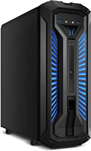 MEDION X30 PCC968 - Ordenador de sobremesa ( Intel Core i7-9700, 8GB RAM, 1TB HDD + 128GB SSD, Nvidia GeForce GTX 1660Ti-6GB, Windows 10) color negro