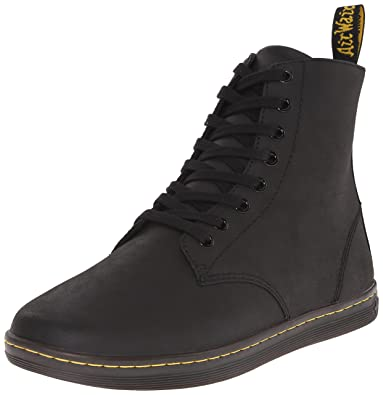 Dr. Martens Men's Tobias Boot,Black Greasy Lamper,10 UK/11 M