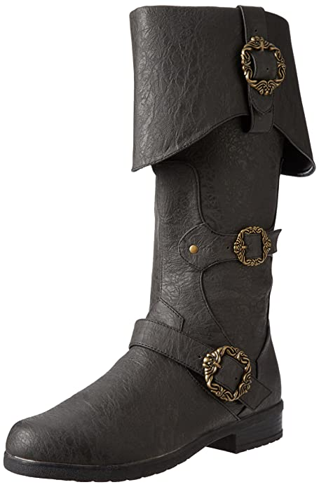 Men's Steampunk Clothing, Costumes, Fashion Funtasma Mens Carribean Combat Boot $53.23 AT vintagedancer.com