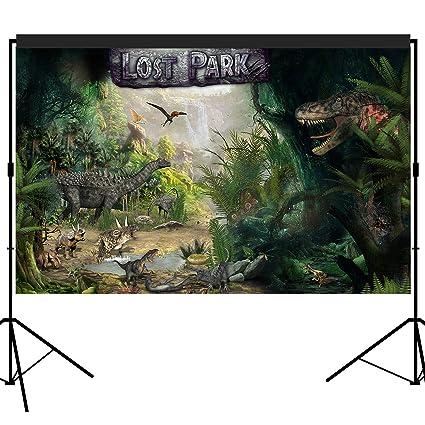 Amazon.com: musykrafties Dino perdido Park dinosaurio fiesta ...