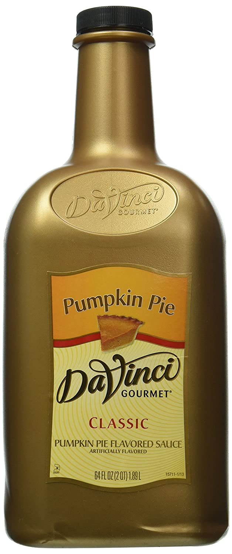 Da Vinci Gourmet Pumpkin Pie Sauce, Half Gallon