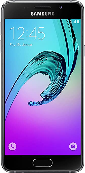 Samsung Galaxy A3 Smartphone 4 71 Zoll Schwarz Amazon De Elektronik
