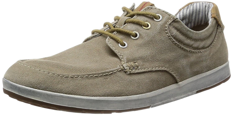Clarks Norwin Vibe 203586137 - Zapatos de lona para hombre, color verde, talla 42