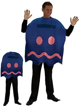 Amazon.com: Pac-Man Poder Pellets fantasma para adulto, Azul ...