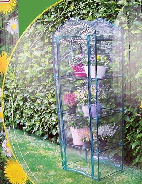 Vetrineinrete® Serra Da Giardino 3 Ripiani Per Terrazzo E Balcone  Protezione Per Piante E Fiori