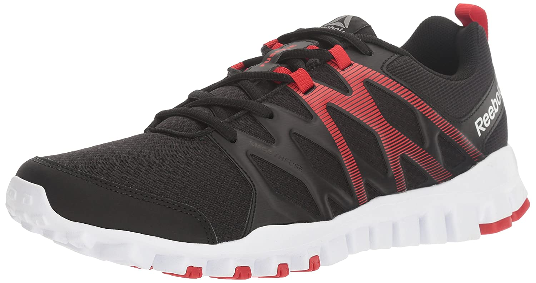 Reebok Men's Realflex Train 4.0 Running Shoe B01HSX1D6G 9 D(M) US Black/Primal Red/White/Pewter