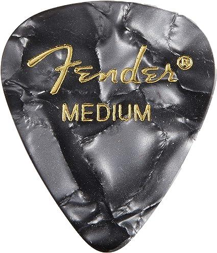 Fender Premium Celluloid Medium Guitar Picks 12-pack ocean turquoise medium