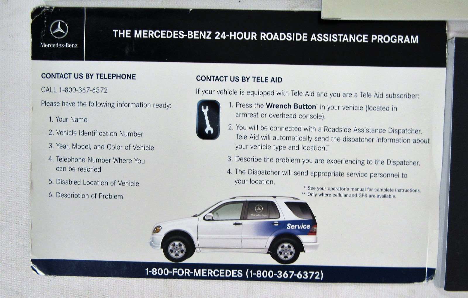 2006 MERCEDES-BENZ ML350 ML500 OWNER'S MANUAL SET: Mercedez-Benz:  0682821521188: Amazon.com: Books