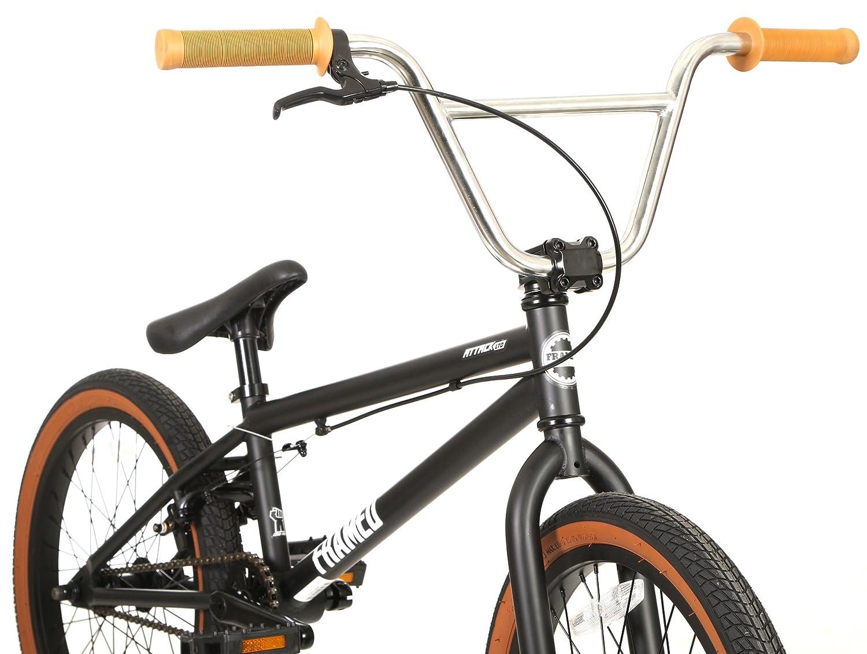 Enmarcado Attack Ltd BMX - Bicicleta para hombre, Negro/Blanco ...