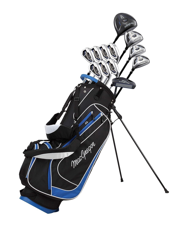 MacGregor Golf 2018 para Hombre DCT2000 Juego Completo de Paquete – Negro/Azul
