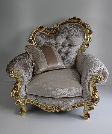 Sessel, Sofasessel, äußerst prachtvoll, Exclusives Sofa Art Barock ...