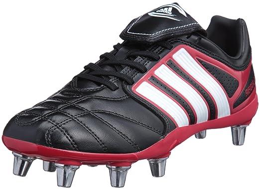 adidas adipure regulate rugby negro bota tacos aluminio