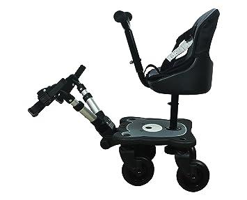 Amazon.com: Englacha 2-en-1 Cozy 4-Wheel Rider, Negro: Baby