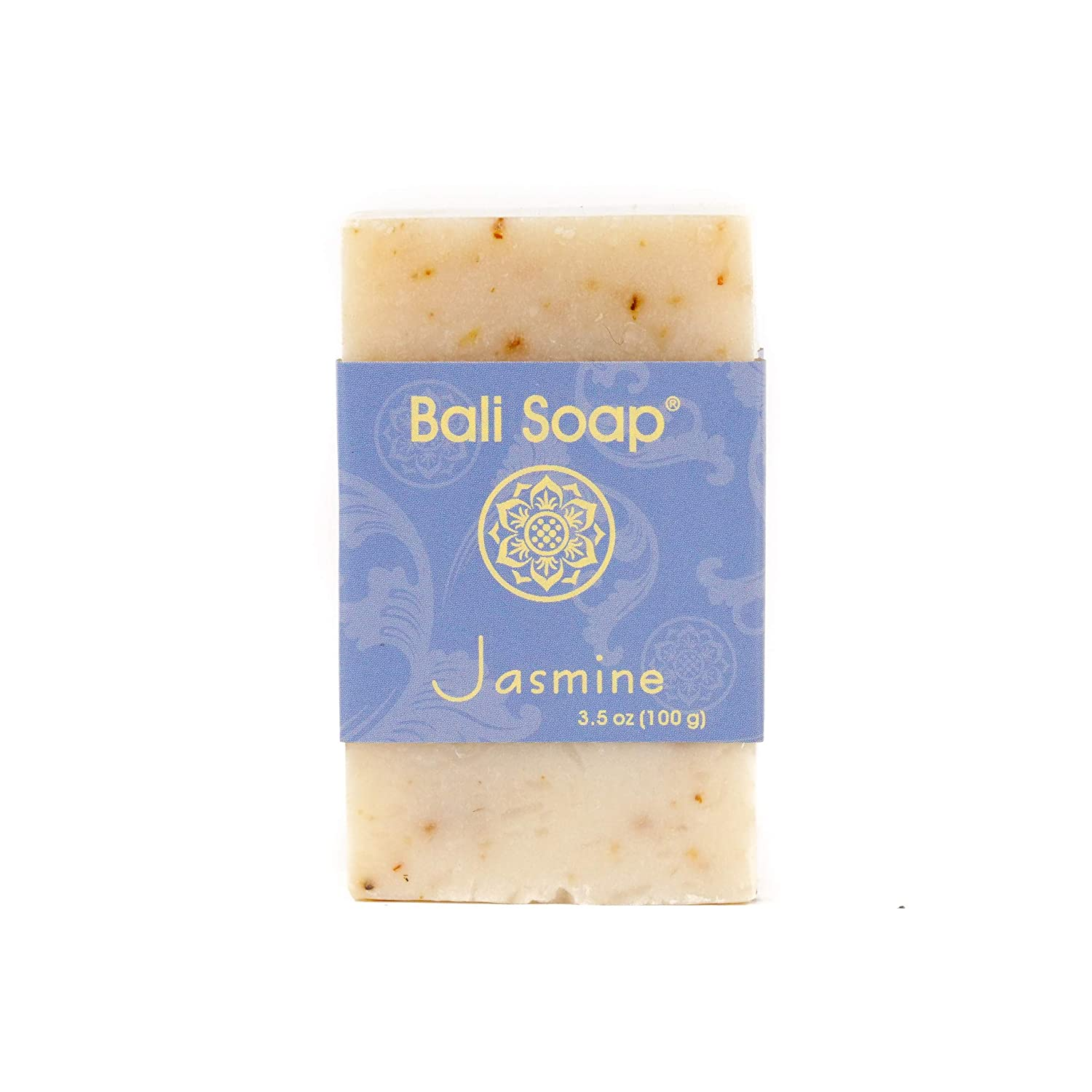 Bali Soap - Jasmine Natural Soap Bar, Face or Body Soap Best for All Skin Types, For Women, Men & Teens, Pack of 3, 3.5 Oz each