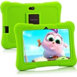 Pritom 7 inch Kids Tablet | Quad Core Android,1GB RAM+16GB ROM | WiFi,Bluetooth,Dual Camera | Educationl,Games,Parental Contr