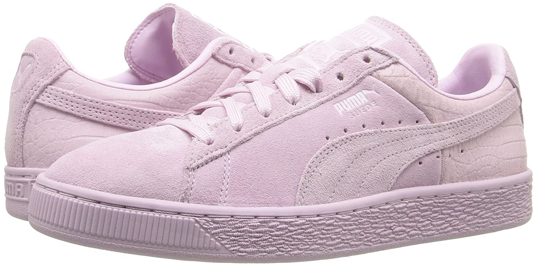 PUMA Women's Fashion Suede Classic Emboss WN's Fashion Women's Sneaker B01A84JE72 9 M US|Lilac Snow 8aabd3