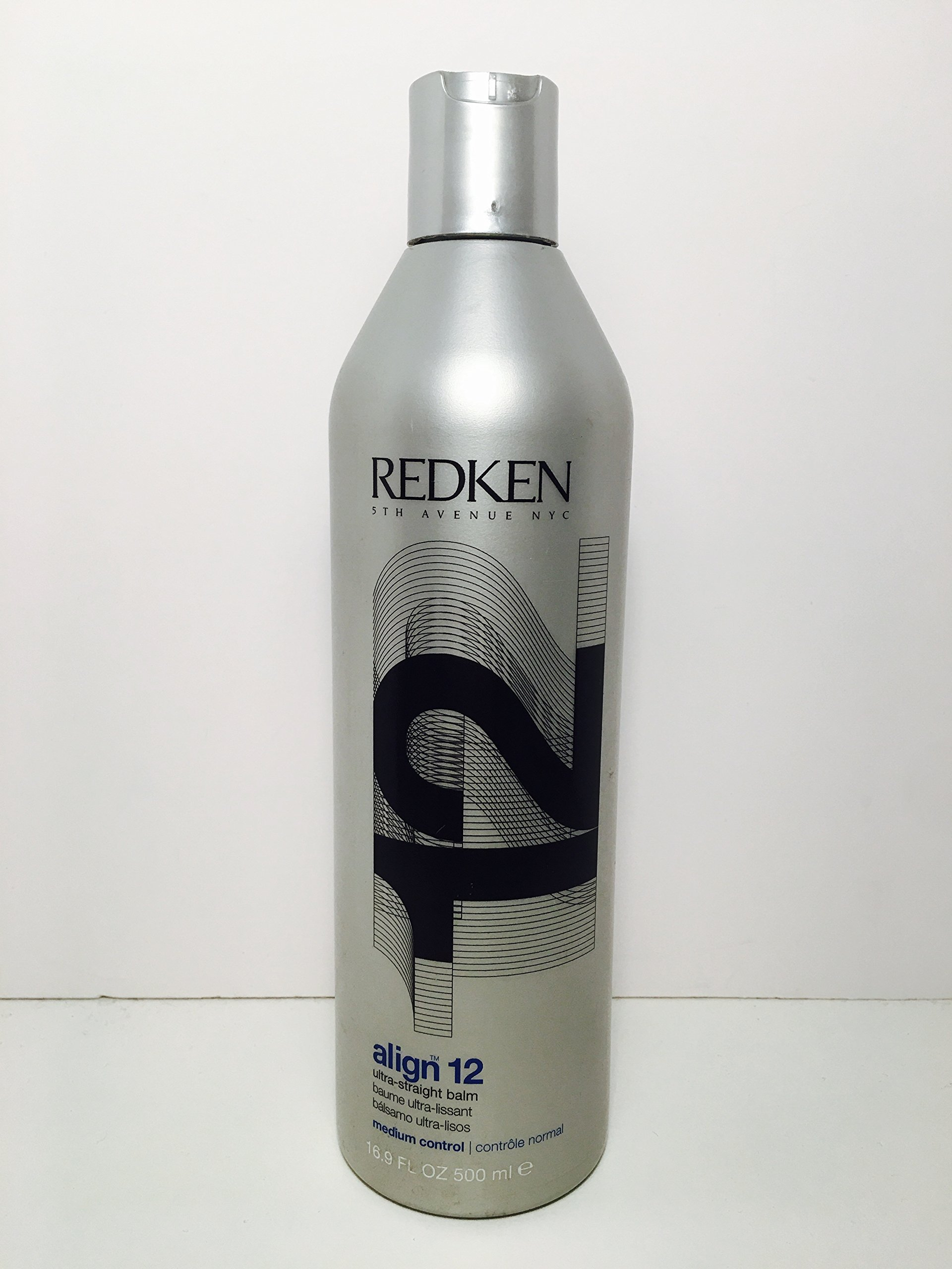 Redken Align 12 Ultra-Straight Balm Unisex, 16.9 Ounce by REDKEN (Image #1)