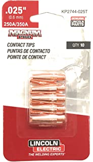 KP2744-025T Lincoln Contact Tip .025 - Taperd 10/pack