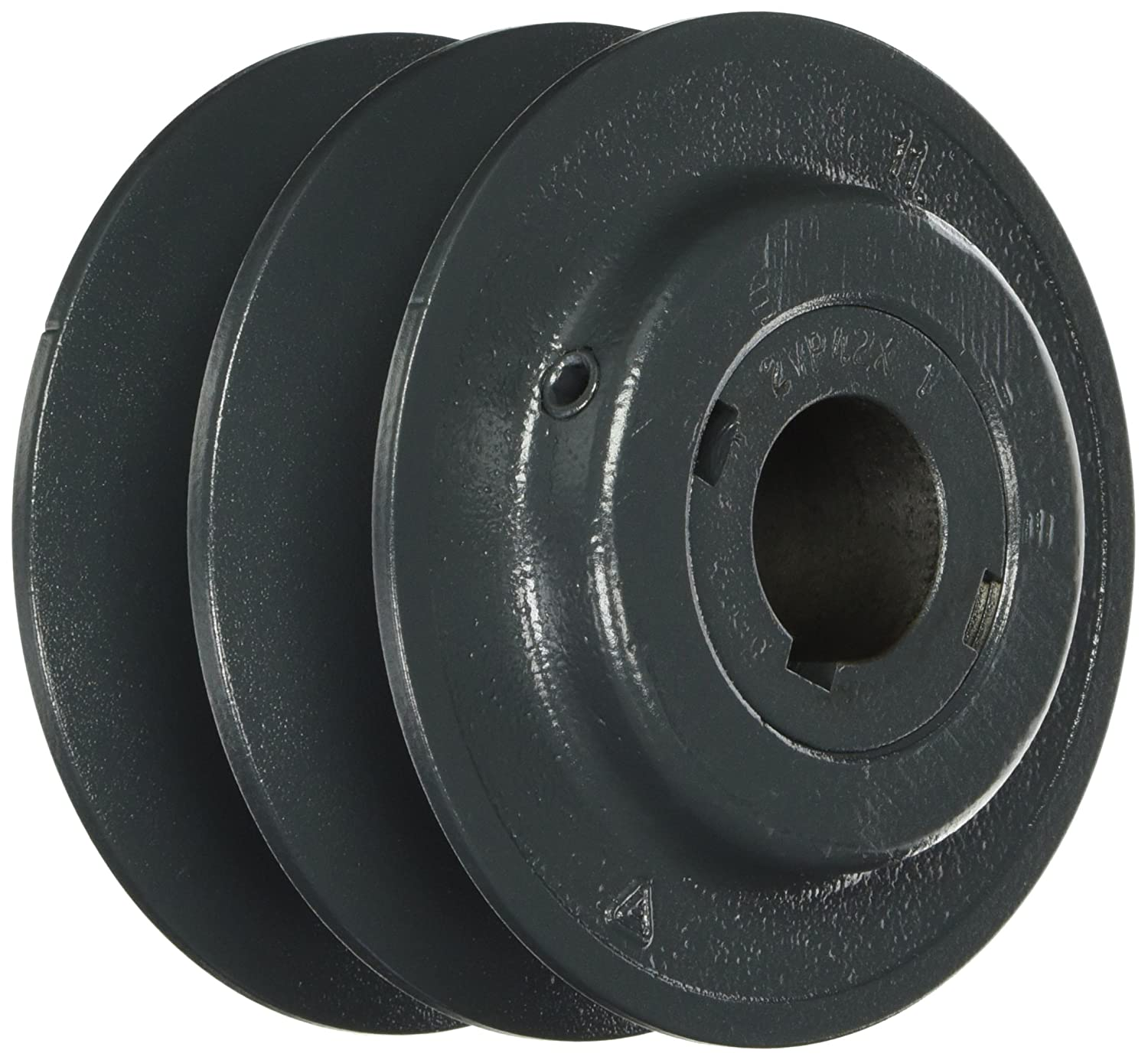 1 Groove 4L or A 5L or B Section Belt Finished Bore for 3L Browning 1VP50X 1 1//8 Variable Pitch Sheave Cast Iron Sheave