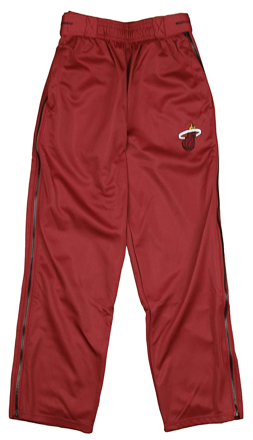 Miami Heat NBA Big Boys Tear-Away Pants, Red Zipway