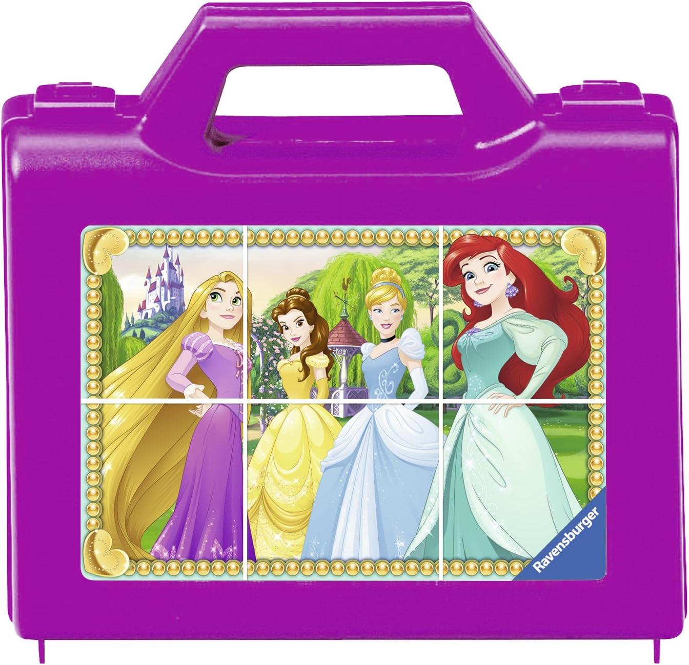 6 Piece Cube Puzzle Disney Princess