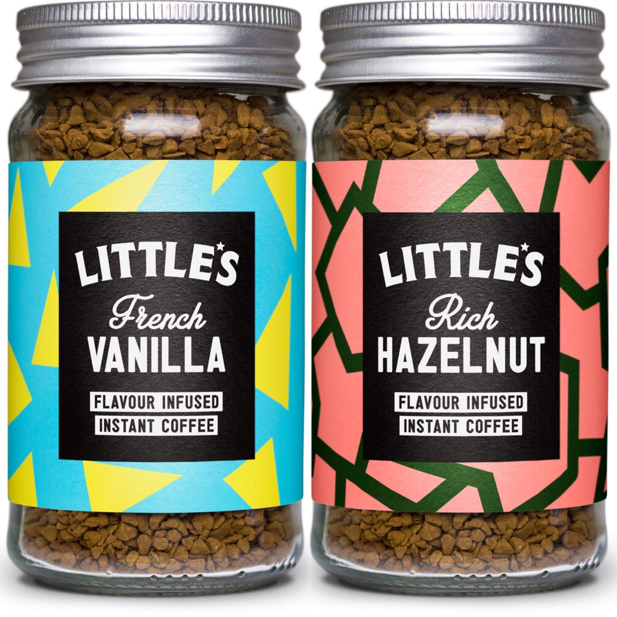 Little's Flavoured Coffee 2 Jars ( French Vanilla & Rich Hazelnut)