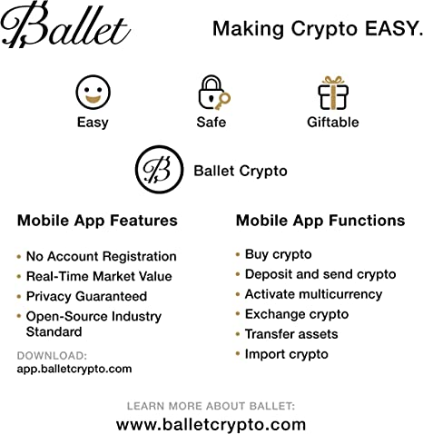 Ballet Real Ethereum Cryptocurrency Physisches Elektronik