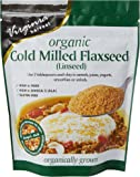 Virginia Harvest Cold Milled Organic Flaxseed 200 g (Pack of 4)