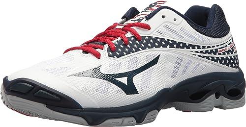 zapatillas mizuno voleibol hombre rojo