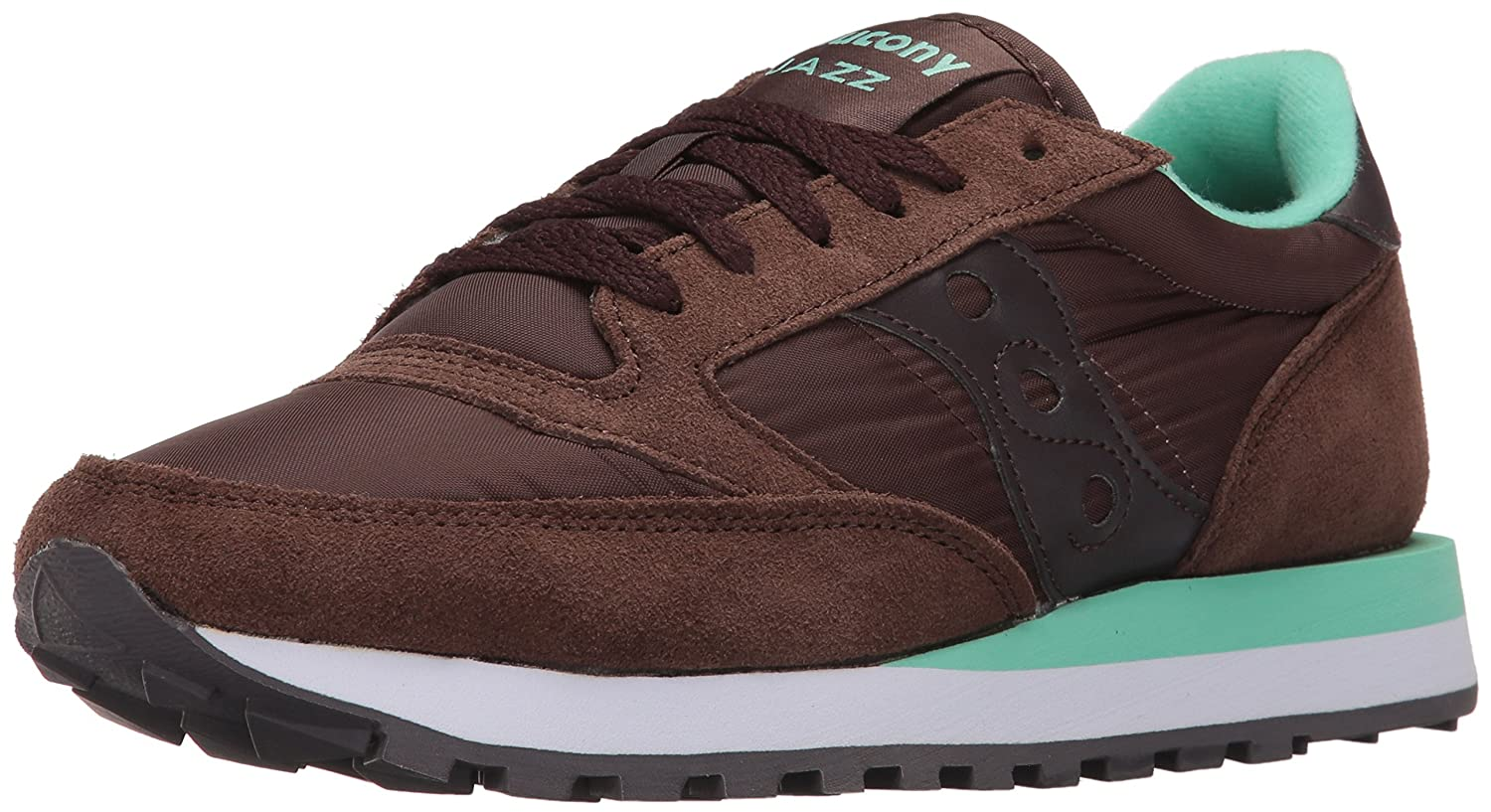 Saucony Originals Women's Jazz Original Sneaker B0189OSUQO 5.5 B(M) US|Brown