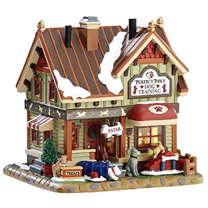 lemax christmas village building perfect paws dog training - Lemax Christmas Village