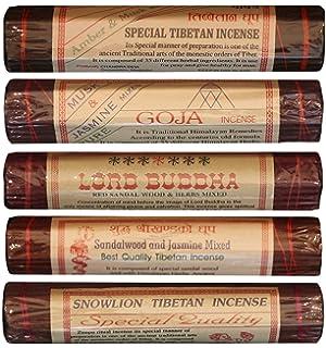 3,5/Longitud/ /3/paquetes Cuerda de Amitabha Buda tibetano Incienso 45/bolsas en cada paquete