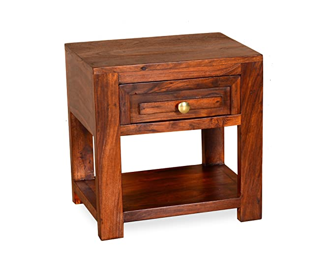 Madera WC-BD-4604-HNY Bedside Table (Honey)