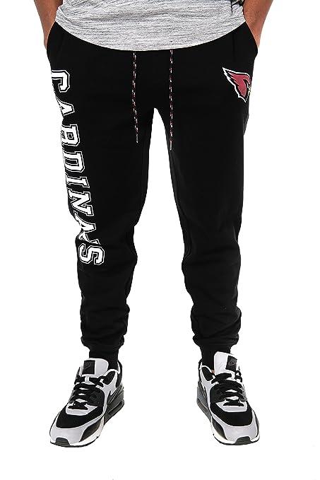 Amazon.com   Icer Brands NFL Men s Jogger Pants Active Basic Fleece ... 7363cf043f84