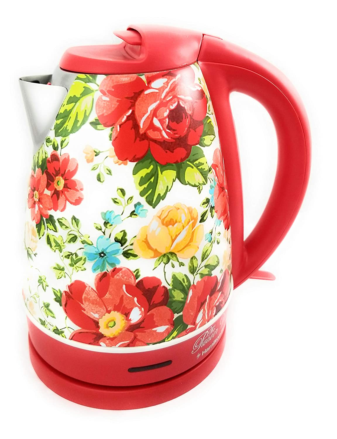 The Pioneer Woman 1.7 Liter Vintage Floral Electric Kettle, Model 40970 by Hamilton Beach