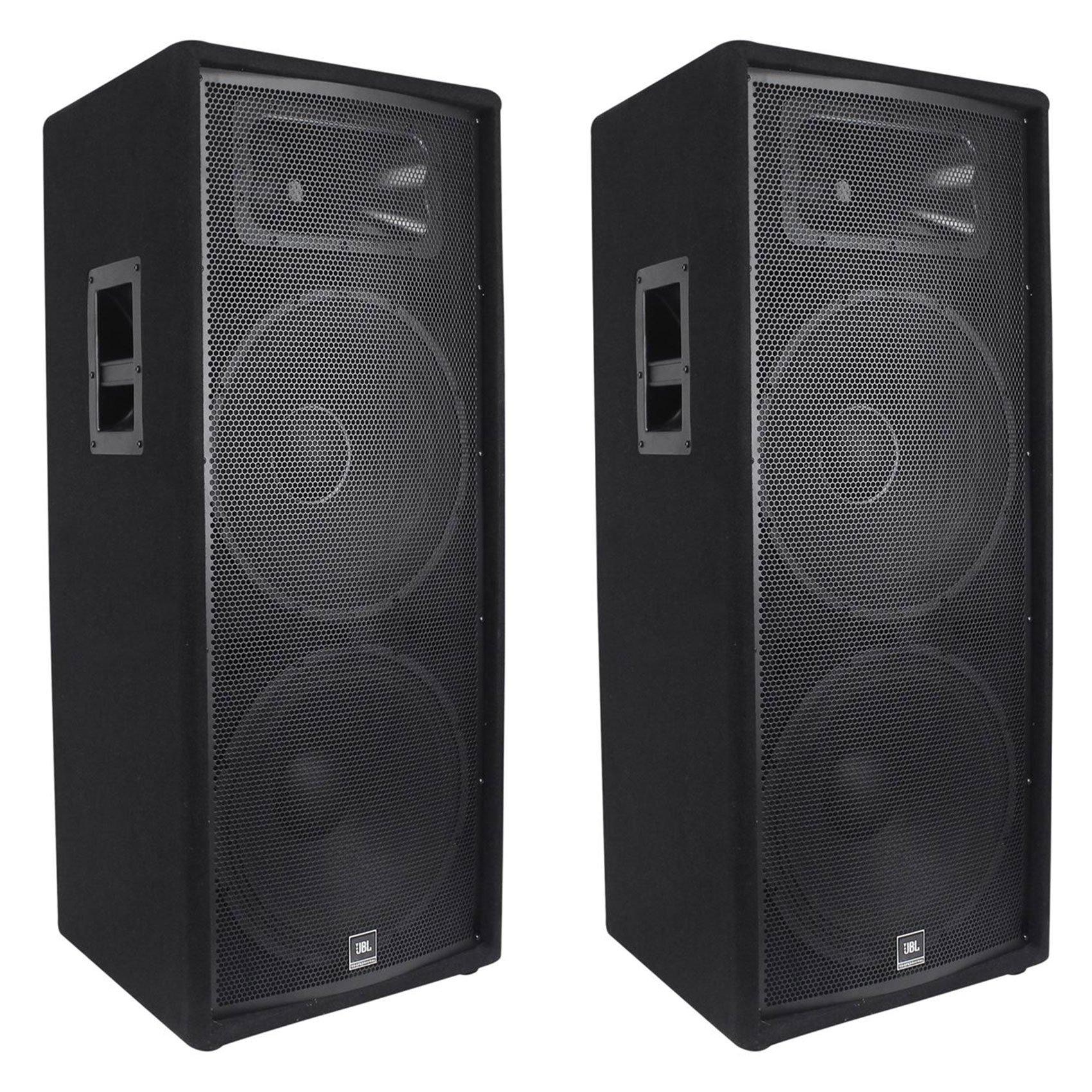 (2) JBL JRX225 Dual 15'' Professional 4000w Passive DJ/PA Speakers 4 Ohm JRX 225 by JBL
