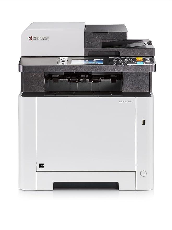 16 opinioni per Kyocera Ecosys M5526cdw Stampante Wi-Fi Laser Multifunzione: Stampa, Fotocopia,