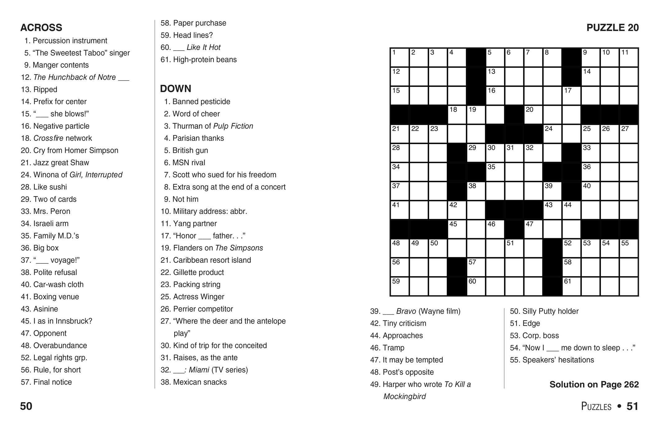 It is a photo of Easy Printable Crossword Puzzles with regard to word bank