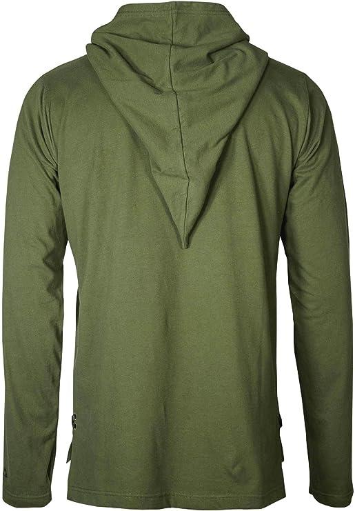 Musterbrand Zelda Camiseta De Manga Larga Hombre Link Shirt Ropa de Videojuegos Verde: Amazon.es: Ropa y accesorios
