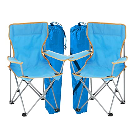 Magnificent Simpa 2 X Childrens Folding Camping Chairs Avaibale In Pink Blue Or Assortment Coloured Sets Fishing Hiking Picnic Garden Collapsible Outdoor Creativecarmelina Interior Chair Design Creativecarmelinacom